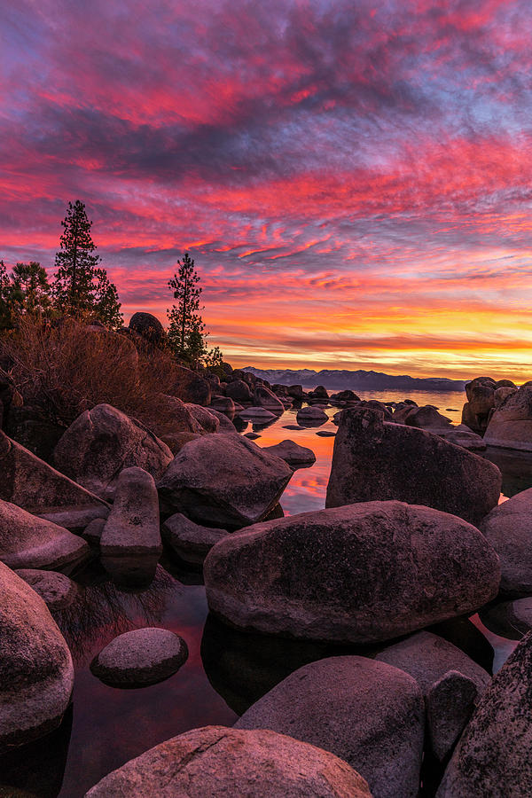 Sand Harbor Beach by Bryan Xavier