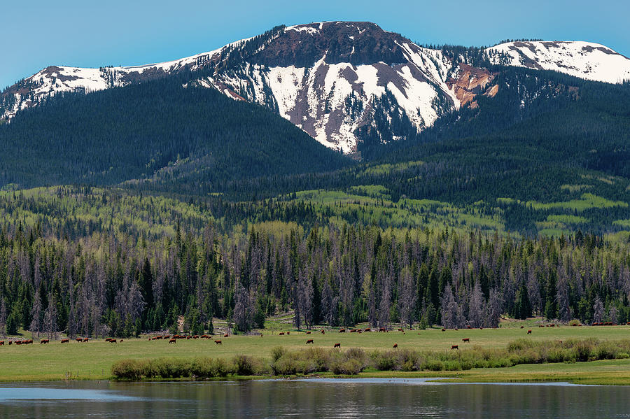 Sand Mountain from Steamboat Lake by Philip Rodgers
