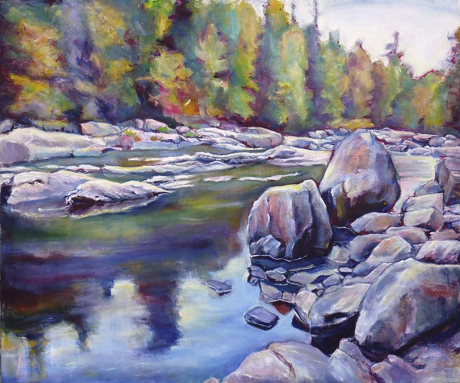 Sand River Painting
