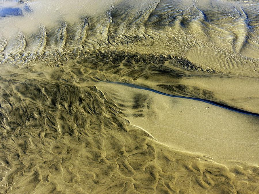 Sand Sculpture 9 by Newel Hunter