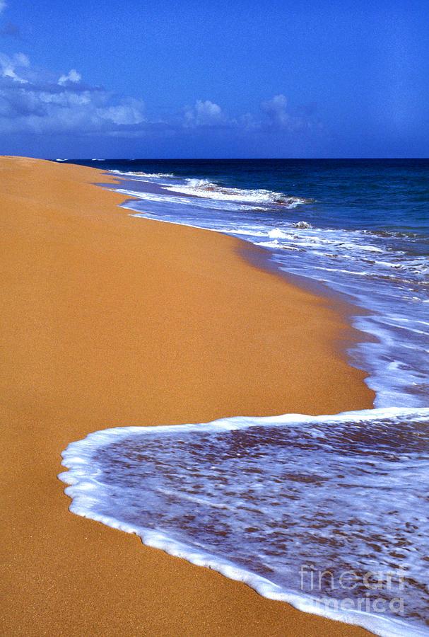 Puerto Rico Photograph - Sand Sea Sky by Thomas R Fletcher