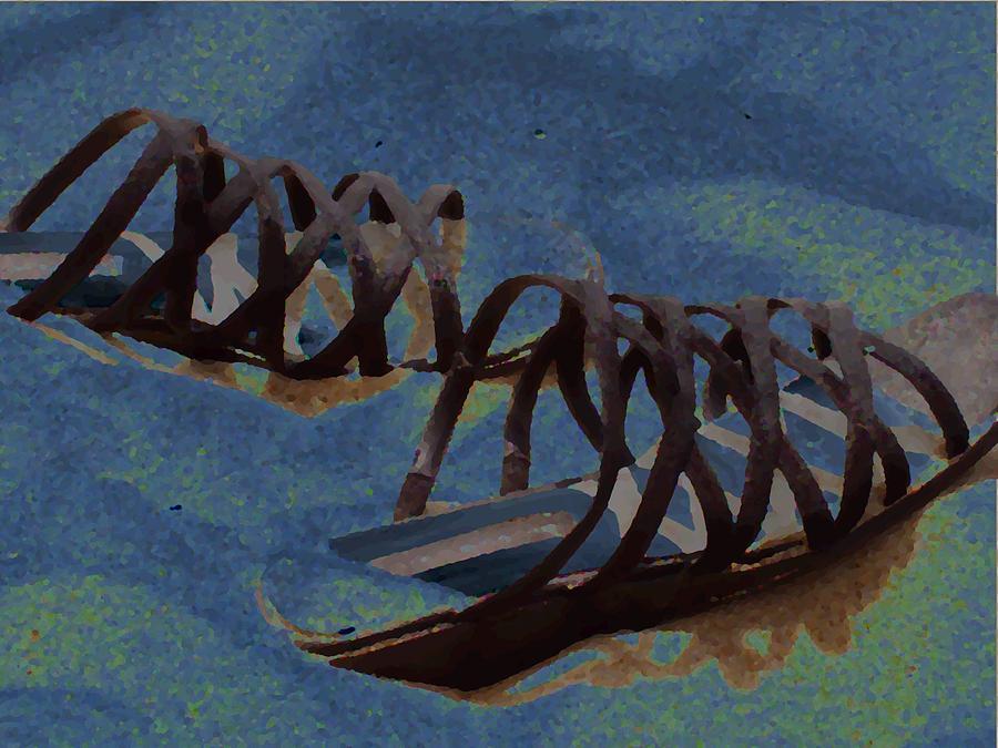 Shoes Photograph - Sand Shoes II by Deborah  Crew-Johnson