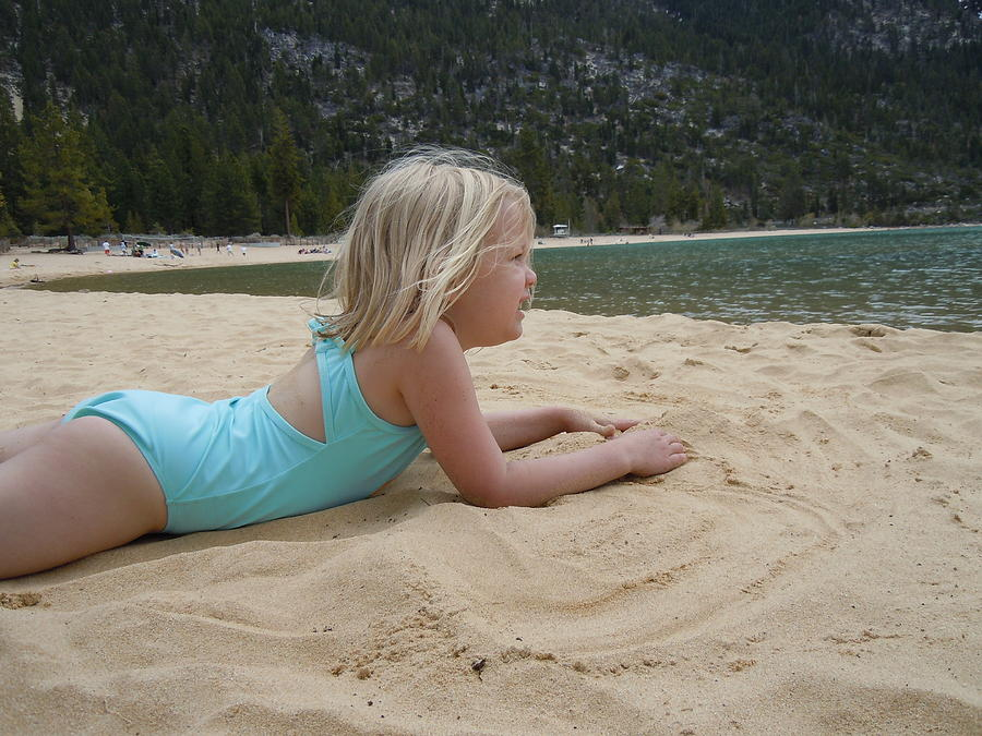 Sand Photograph - Sand Sun And Someone You Love by Dan Whittemore