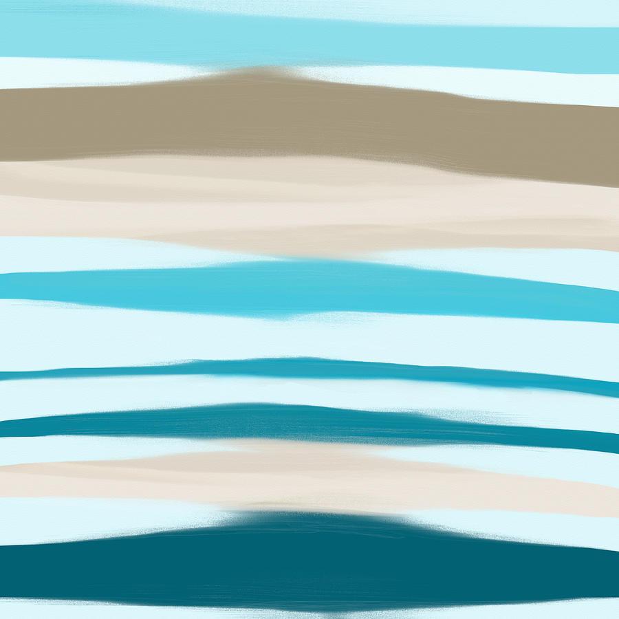 Sea Painting - Sandbanks by Frank Tschakert