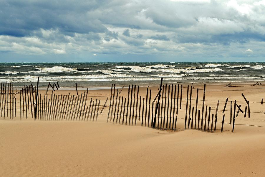 Holland Photograph - Sandblasted by Michelle Calkins