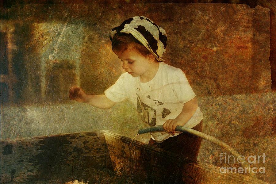 Sandbox Photograph - Sandbox Recipe by Pam Vick