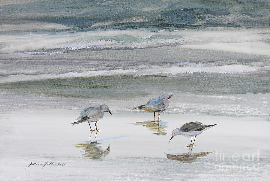 Sandpipers by Julianne Felton
