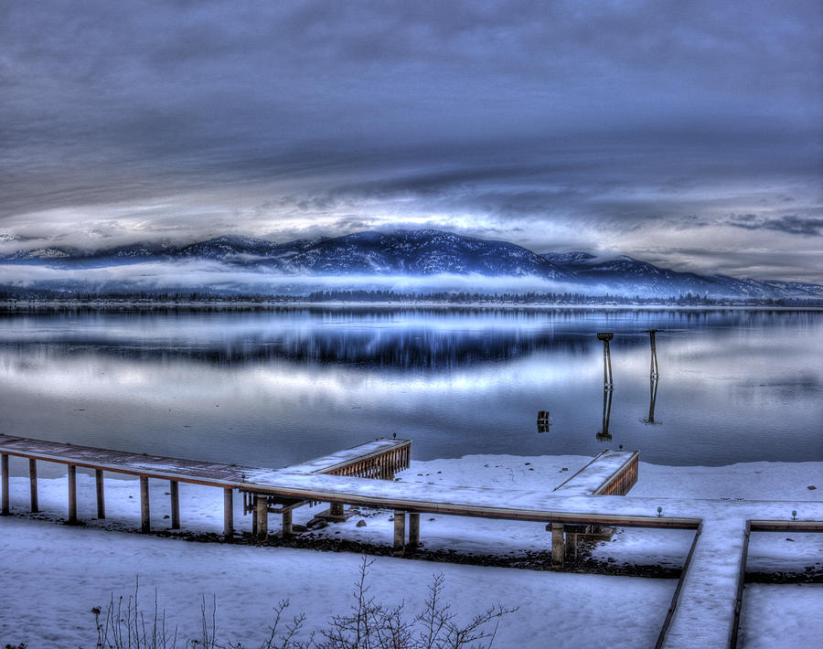 Scenic Photograph - Sandpoint From 41 South by Lee Santa