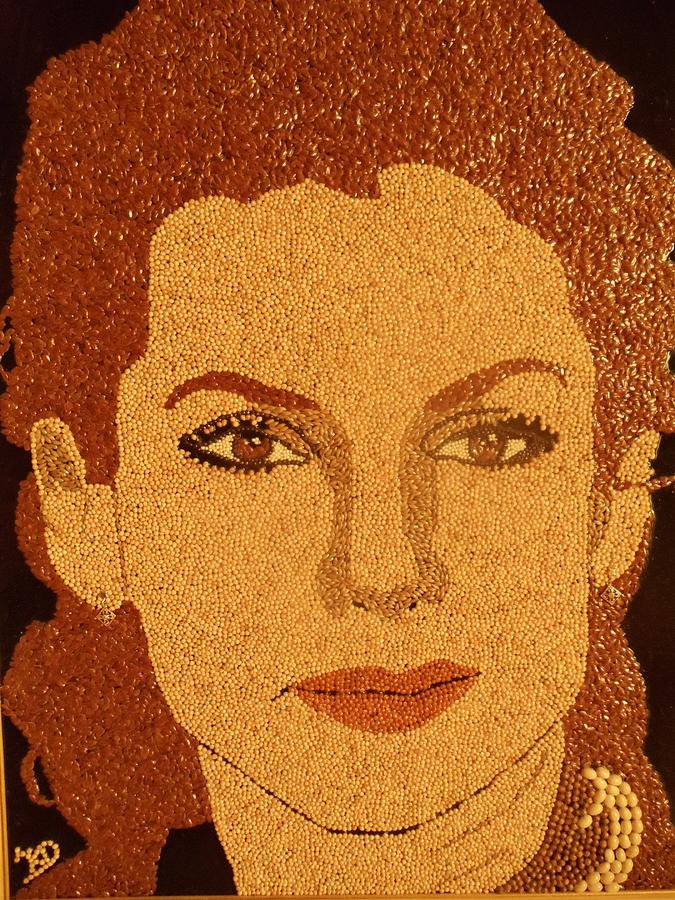Portrait Relief - Sandra Bullock by Kovats Daniela