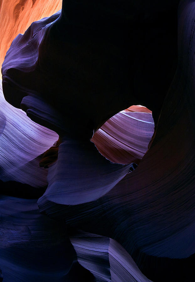 Antelope Canyon Photograph - Sandstone Portal by Mike  Dawson