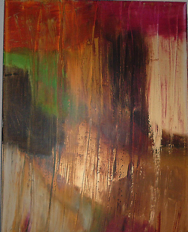 Abstract Painting - Sandstorm by Lon Cerame