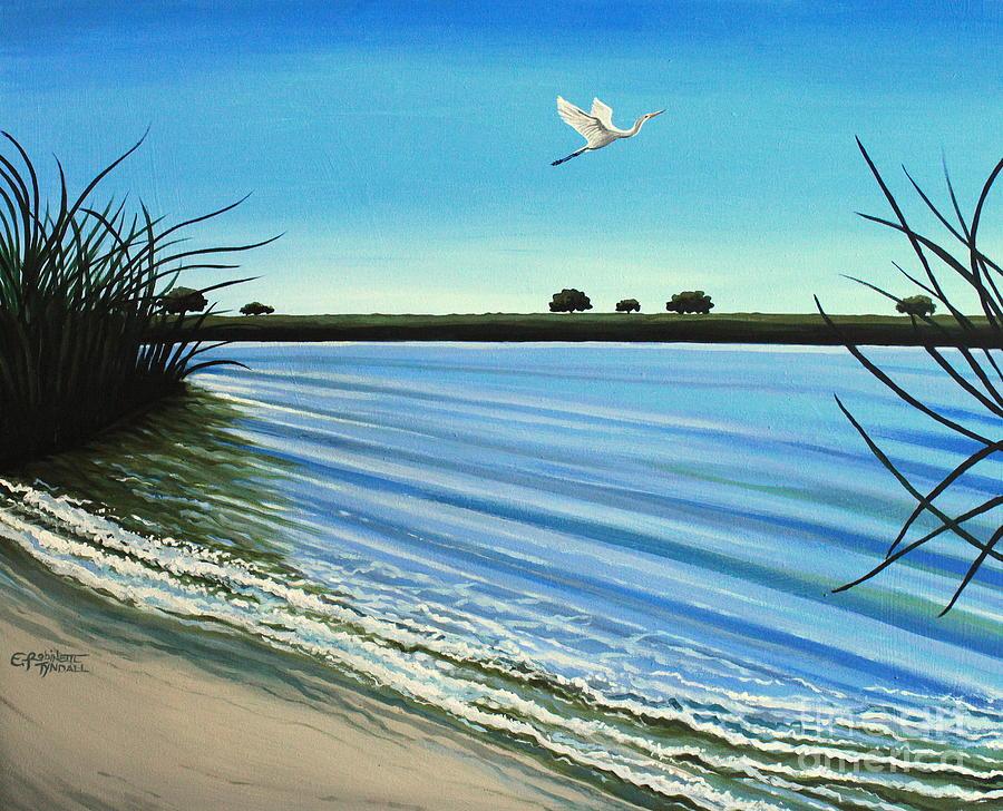 Beach Painting - Sandy Beach by Elizabeth Robinette Tyndall
