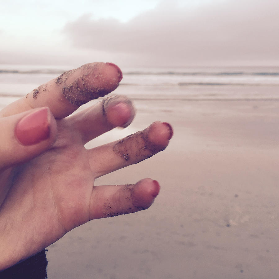 Photograph Photograph - Sandy Fingers by Kelly Jade King