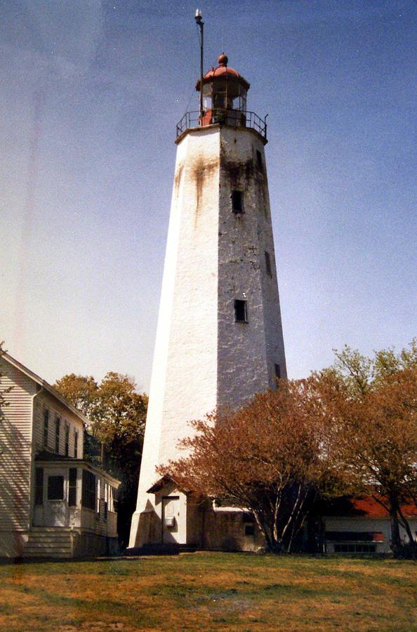 Sandy Hook Lighthouse Photograph by Frederic Kohli