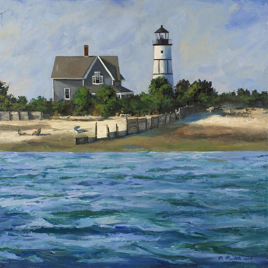 Sandy Neck Light House - Cape Cod Painting