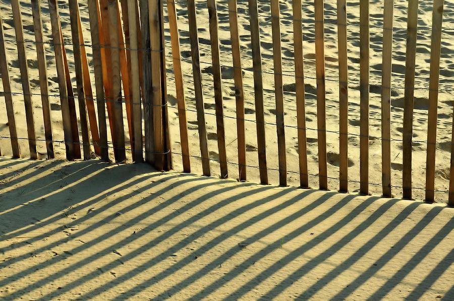 Beach Photograph - Sandy Pinstripes by JAMART Photography