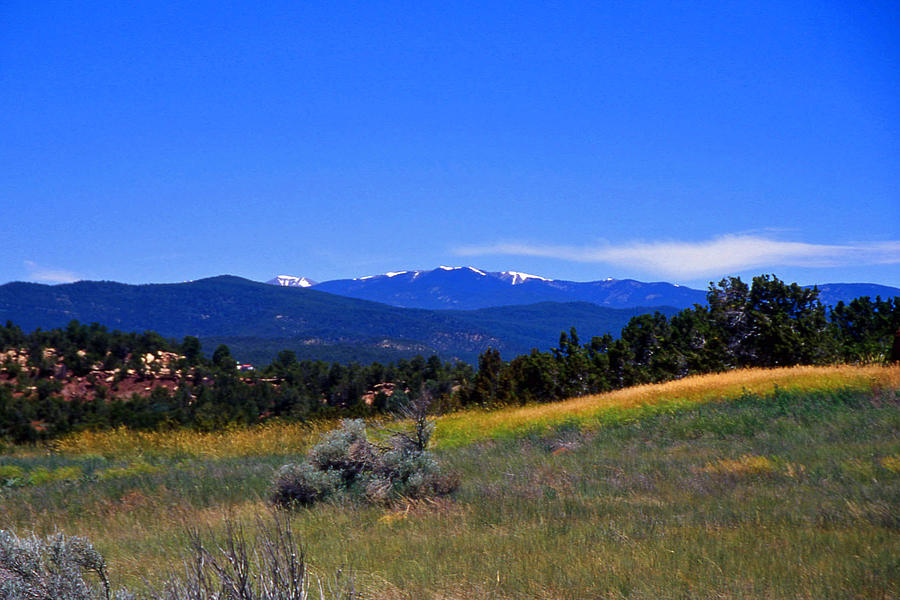 Sangre De Cristos Photograph - Sangre De Cristos Mountains New Mexico by Randy Muir