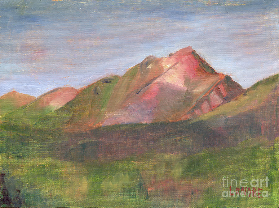 Colorado Painting - Sangres I by Lilibeth Andre