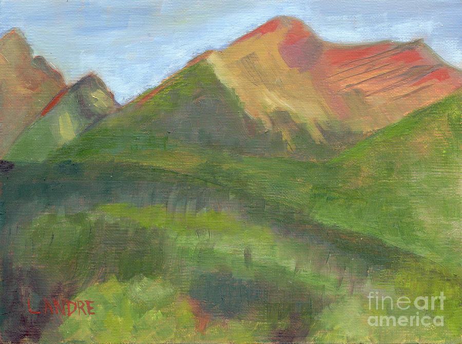 Colorado Painting - Sangres II by Lilibeth Andre