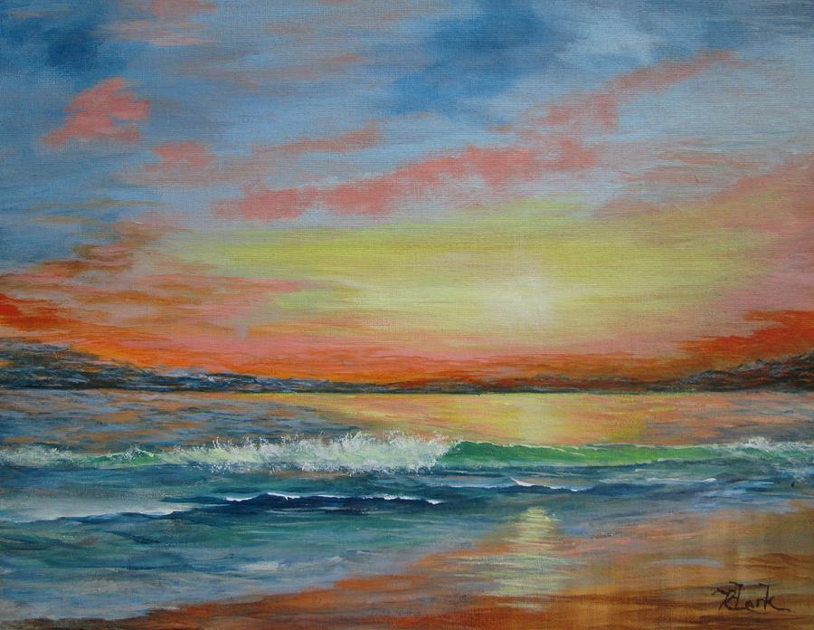 Sangria Beach by Robert Clark