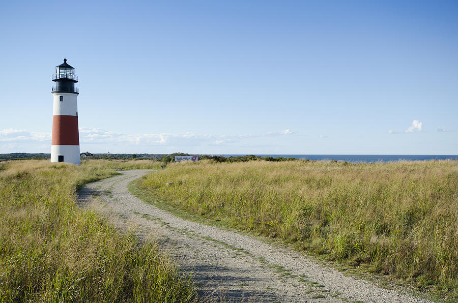 Horizontal Photograph - Sankaty Head Lighthouse, Nantucket by Jack Flash