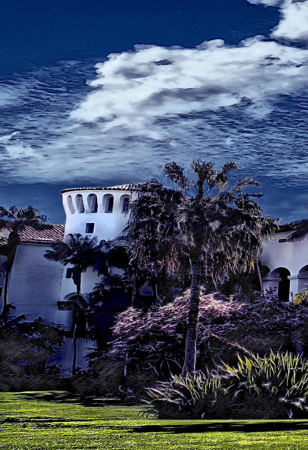 Santa Barbara City Hall Part 1- color by Danuta Bennett