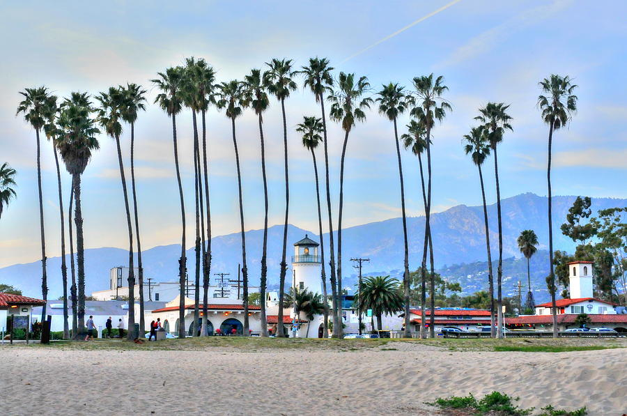 Santa Barbara From the Sea by Richard Omura