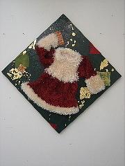 Dress Painting - Santa Claus Girlfriend by Lehua Ehukai