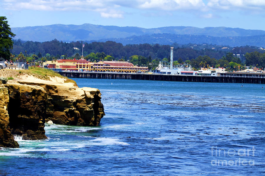 Santa Cruz Photograph - Santa Cruz Coastline  by Christine Segalas