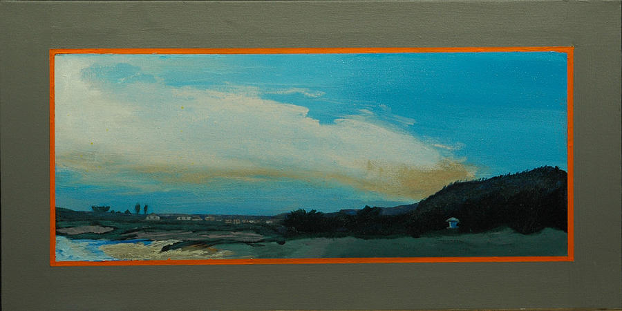 Seascape Painting - Santa Cruz Snaps No 2 by Doctor Robert
