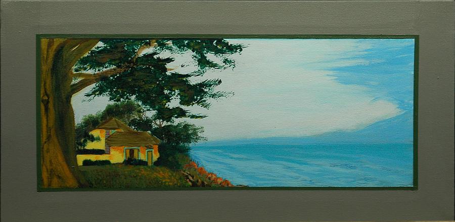 Seascape Painting - Santa Cruz Snaps No 4 by Doctor Robert