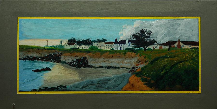 Seascape Painting - Santa Cruz Snaps No. 5 by Doctor Robert