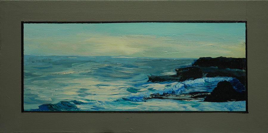 Seascapes Painting - Santa Cruz Snaps No 7 by Doctor Robert