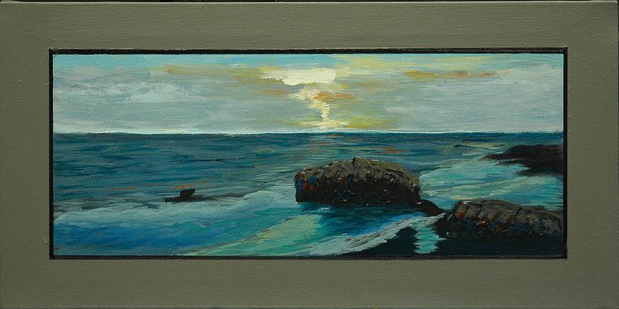 Seascapes Painting - Santa Cruz Snaps No 8 by Doctor Robert