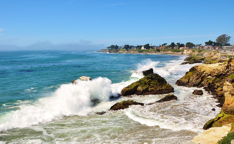 Santa Cruz Wave Spray by Marilyn MacCrakin