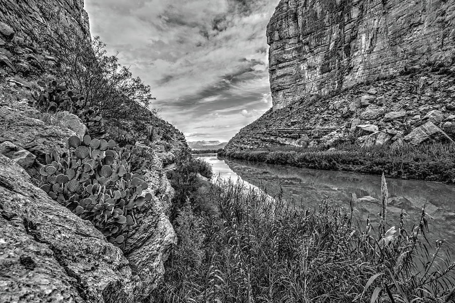 Santa Elena Canyon by George Buxbaum