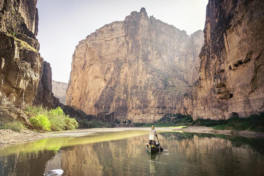 Santa Elena Canyon by Whit Richardson