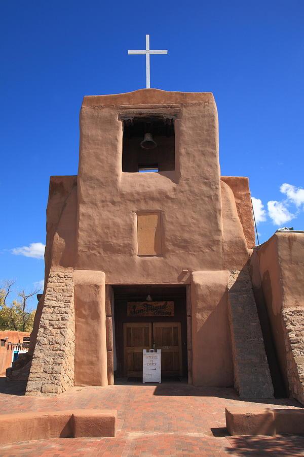 66 Photograph - Santa Fe - San Miguel Chapel by Frank Romeo