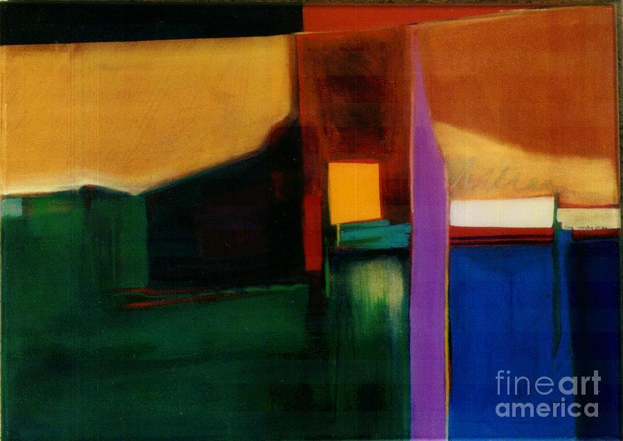 Abstract Painting - Santa Fe 1 Break Loose by Marlene Burns