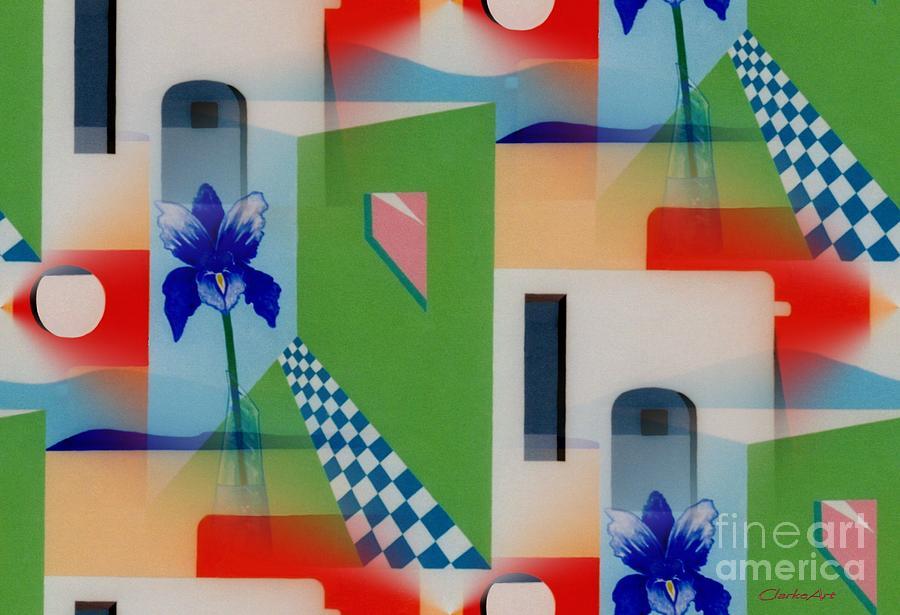 Santa Fe Adobe - #1 by Jean Clarke