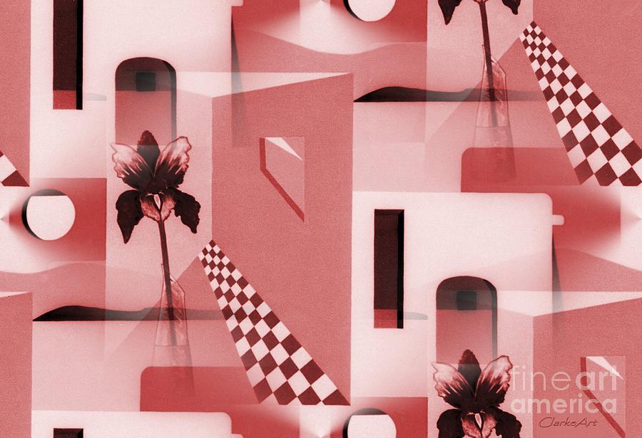 Santa Fe Adobe - #2 by Jean Clarke
