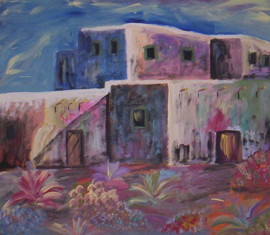 Landscape Painting - Santa Fe Dreams by Lindsay St john