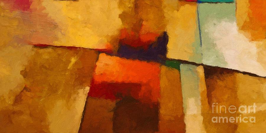 Santa Fe Painting - Santa Fe by Lutz Baar