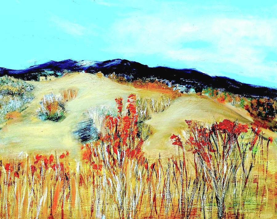 Landscape Painting - Santa Fe by Michael Moseley