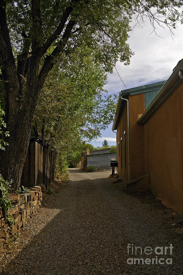 Road Photograph - Santa Fe Road by Madeline Ellis