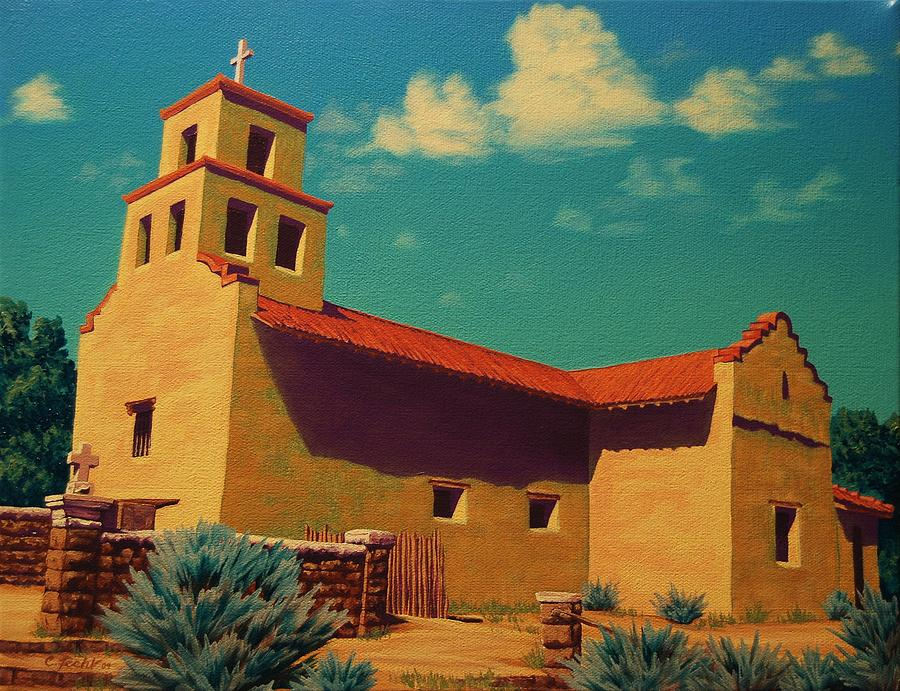 Santa Fe Tradition by Cheryl Fecht