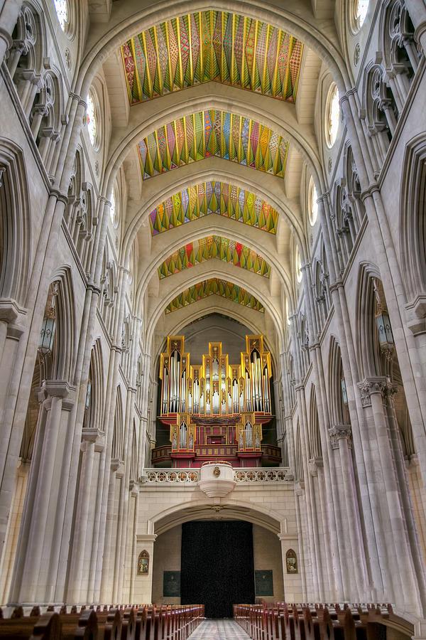 Cathedral Photograph - Santa Iglesia Catedral De Santa Maria La Real De La Almudena by Ross G Strachan