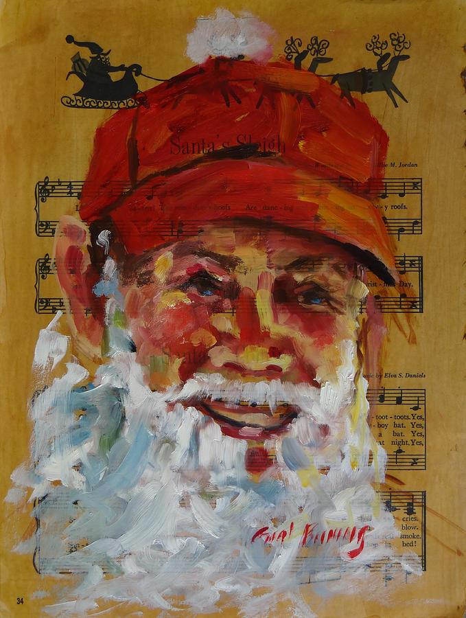 Santa is a Dairy Farmer by Carol Berning
