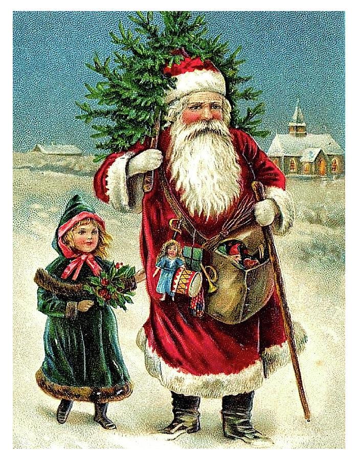 Для андрея, дореволюционные новогодние открытки фото