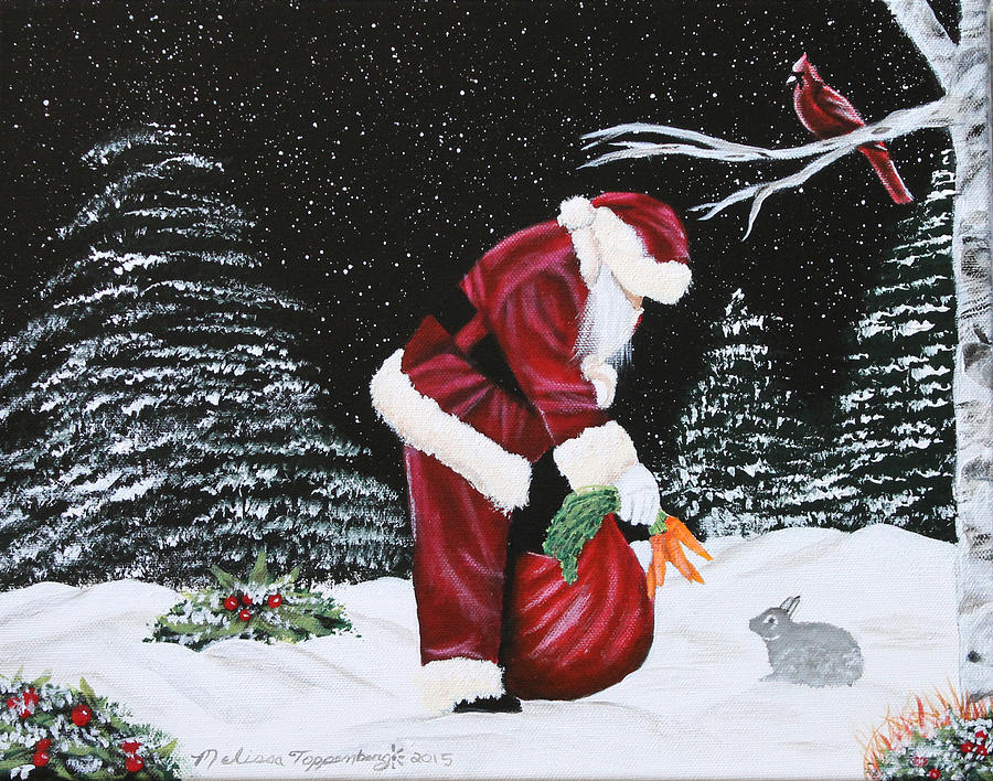 Santa Loves All Creatures by Melissa Toppenberg